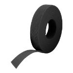 Cablenet 25m Reel x 10mm FRT Velcro One Wrap Continuous Tape Black