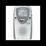 Sangean DT-210 Personal Silver radio
