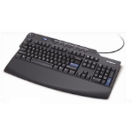 Lenovo 73P2650 USB QWERTY Finnish Black keyboard