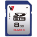 V7 SDHC 8 GB Clase 4