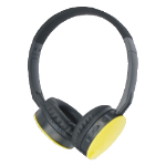 M-Cab 7002203 mobile headset Binaural Head-band Black, Yellow Wireless