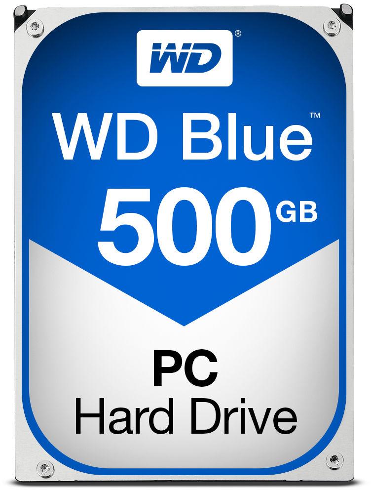 """Western Digital 500GB 7.2K 6GB/s SATA 3.5"""" Hard Drive"""