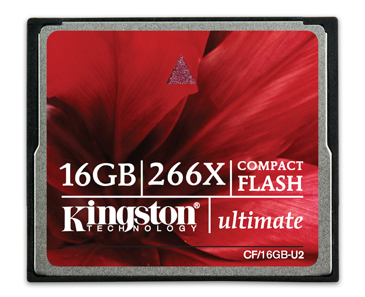 Kingston Technology 16GB Ultimate CompactFlash 16GB CompactFlash Flash memory card