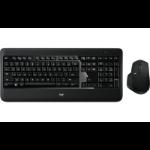 Logitech MX900 Tastatur Bluetooth QWERTZ Schweiz Schwarz