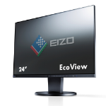 Eizo EV2450 24 Inch IPS Monitor, 1920 x 1080, Height Adjustable, HDMI, DVI, DisplayPort Black Full HD