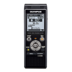 Olympus WS-853 dictaphone Internal memory & flash card Black