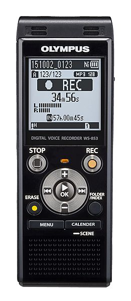 Voice Recorder Ws-853 Flash 8GB Black