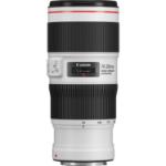 Canon EF 70-200mm f/4L IS II USM MILC Standard zoom lens Black,White