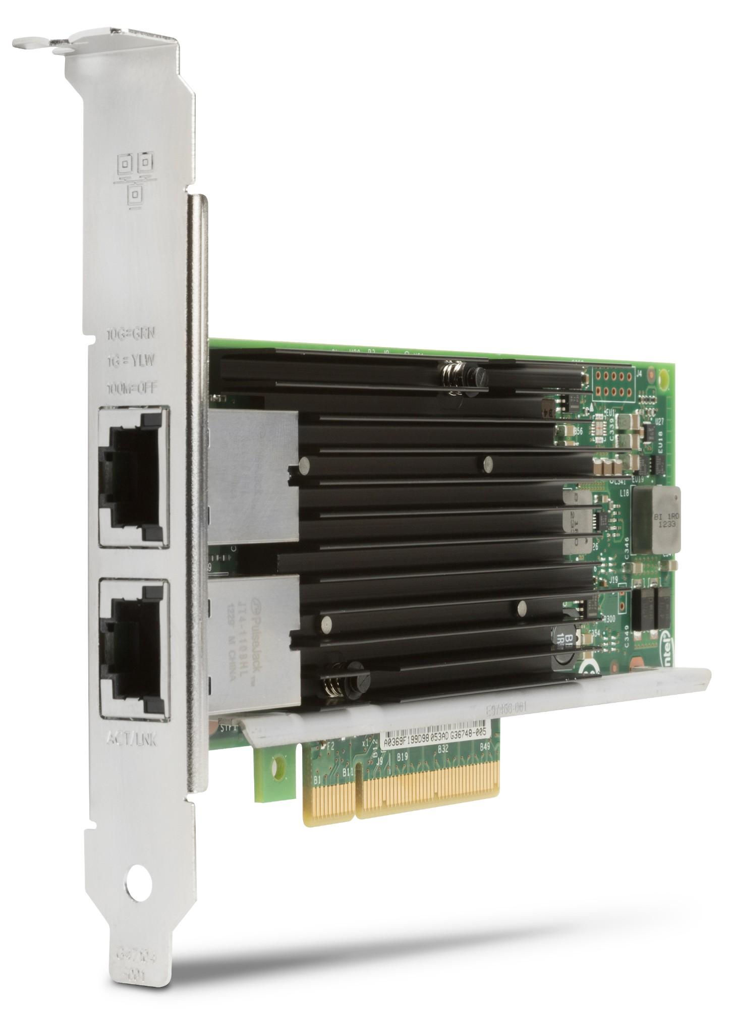 Hewlett Packard Enterprise Adaptador de doble puerto Intel X540-T2 de 10 GbE