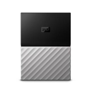 Western Digital My Passport Ultra 2TB external hard drive 2000 GB Black, Silver