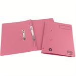 Elba Spirosort Transfer Spring File Recycled 285gsm 35mm Foolscap Pink Ref 100090162 [Pack 25]