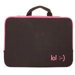 Urban Factory lol Laptop Sleeve for up to 15.6 Inch Devices, Fuschia Pink (NOT01UF)