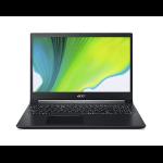 "Acer Aspire 7 A715-75G-56S6 Notebook 39,6 cm (15.6"") 1920 x 1080 Pixels Intel® 9de generatie Core™ i5 16 GB DDR4-SDRAM 512 GB SSD NVIDIA® GeForce® GTX 1650 Wi-Fi 6 (802.11ax) Windows 10 Home Zwart"