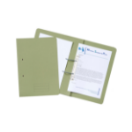 Exacompta Value Transfer File Foolscap Green TFM-GRNZ - (PK25)
