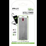 PNY PowerPack Digital 5200 power bank Aluminium Lithium-Ion (Li-Ion) 5200 mAh