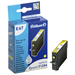 Pelikan 4108630 (E67) compatible Ink cartridge yellow, 607 pages, 9 ml, 9ml (replaces Epson T1294)