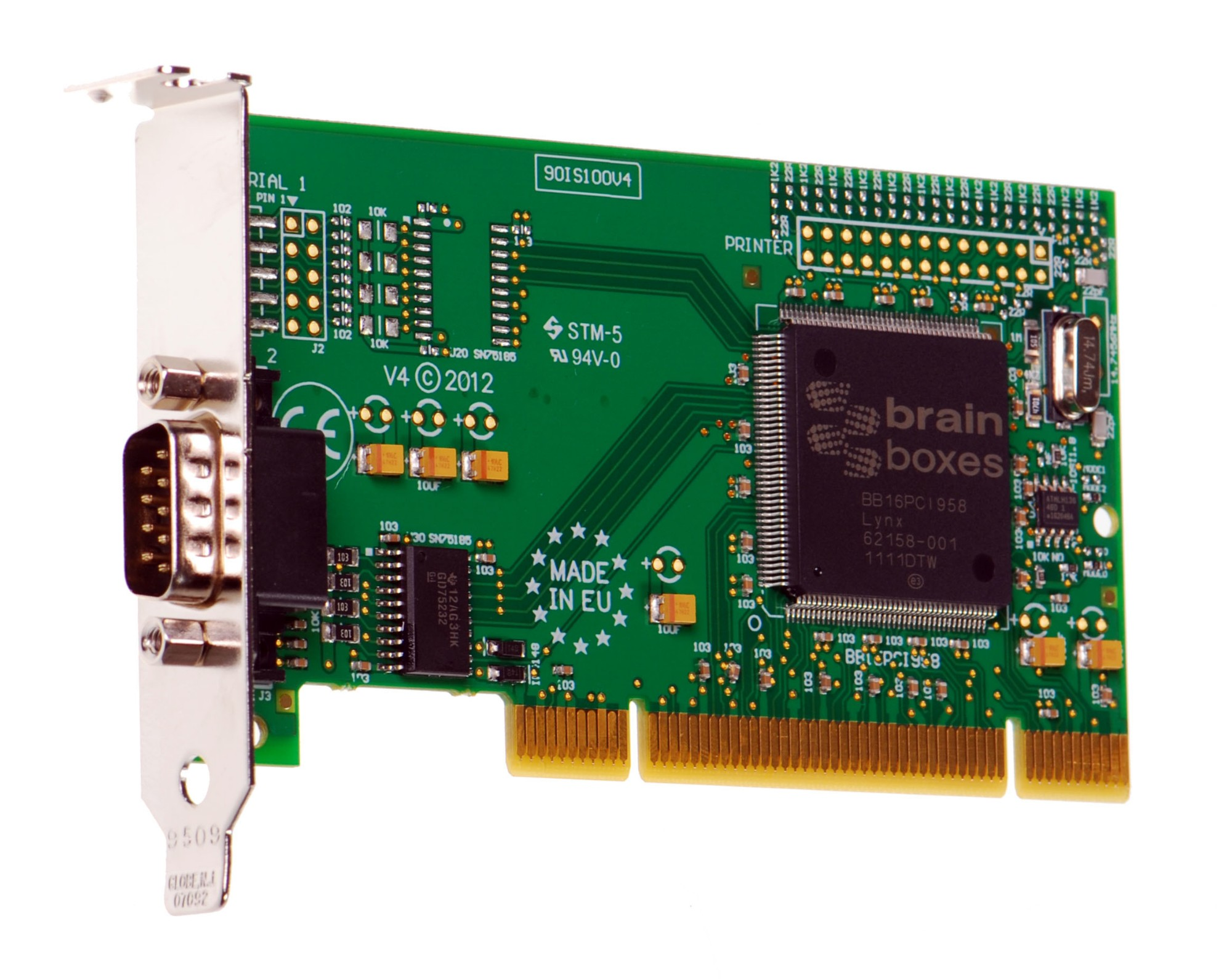 Brainboxes IS-150 interface cards/adapter Serial Internal