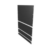 Vertiv VRA2002 rack accessory Blank panel