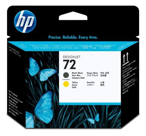 HP C9384A (72) Printhead black matt
