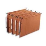 Elba 100330473 A4 Cardboard Brown,Orange 25pc(s) hanging folder