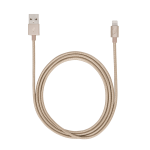 """Targus iStore mobile phone cable Gold USB A Lightning 47.2"""" (1.2 m)"""