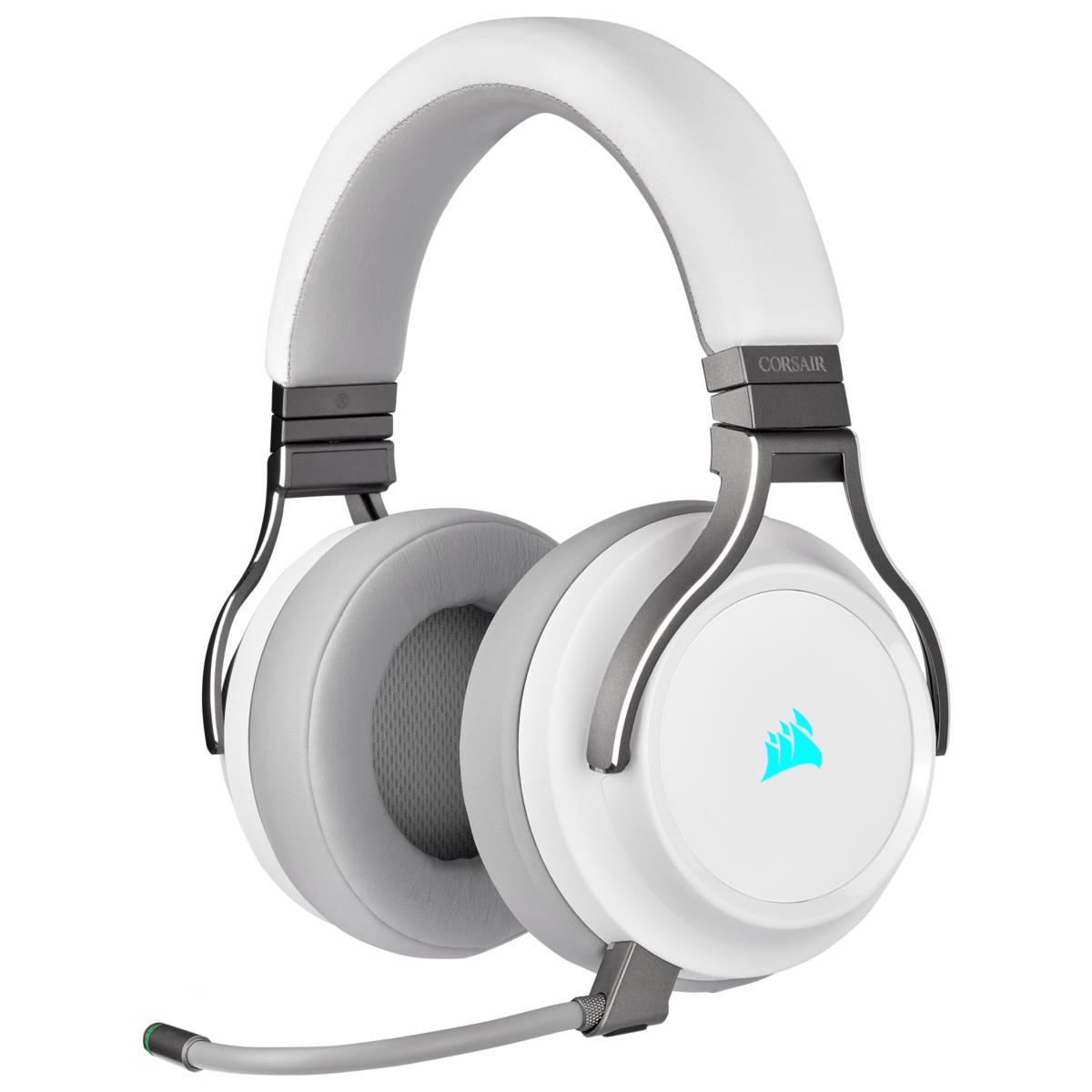 Virtuoso RGB Wireless Headset - White