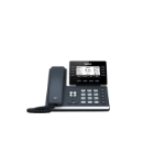 Yealink SIP-T53W IP phone Black Wired handset LCD 8 lines Wi-Fi
