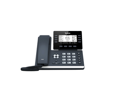 Yealink SIP-T53W IP phone Black Wired handset LCD 8 lines Wi-Fi