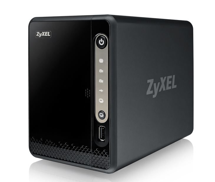ZyXEL NAS326 Ethernet LAN Mini Tower Black NAS