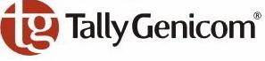 TallyGenicom 062471 Nylon black, 20000K characters