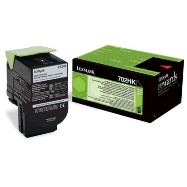 Lexmark 70C2HK0 (702HK) Toner black, 4K pages