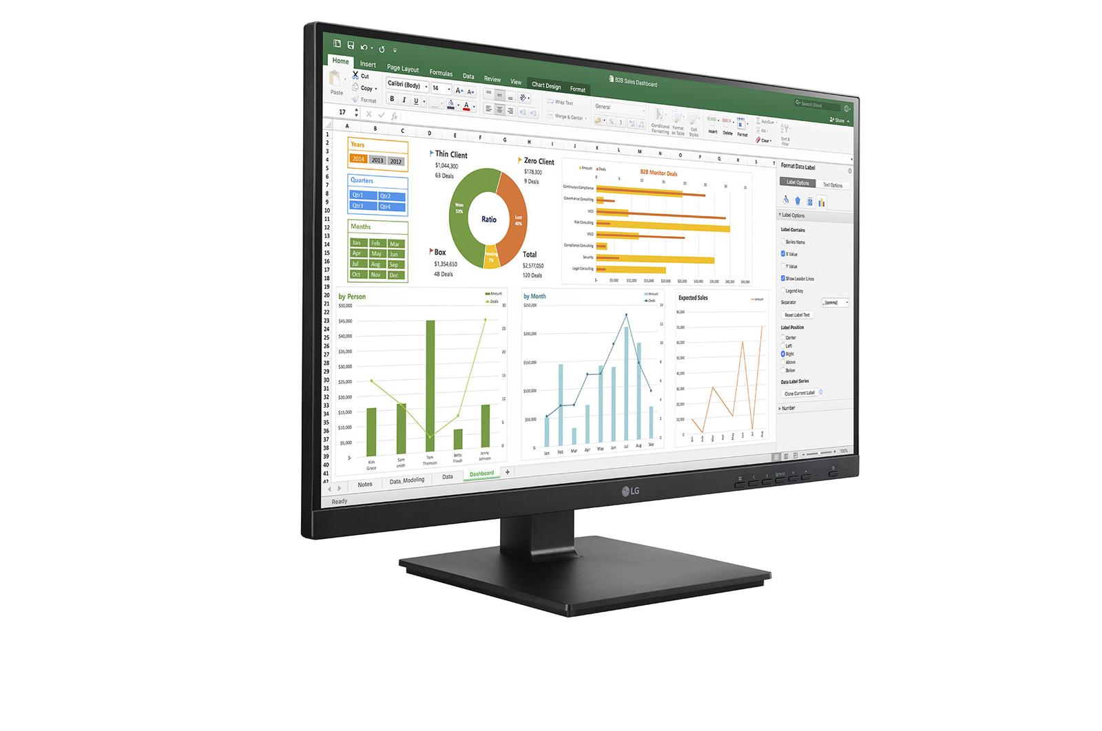 LG 24BN650Y-B computer monitor 60.5 cm (23.8