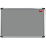 Nobo EuroPlus Felt Noticeboard Grey 1200x900mm