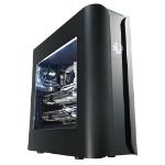 BitFenix BFC-PAN-600-KKWN1-RP Midi-Tower Black computer case
