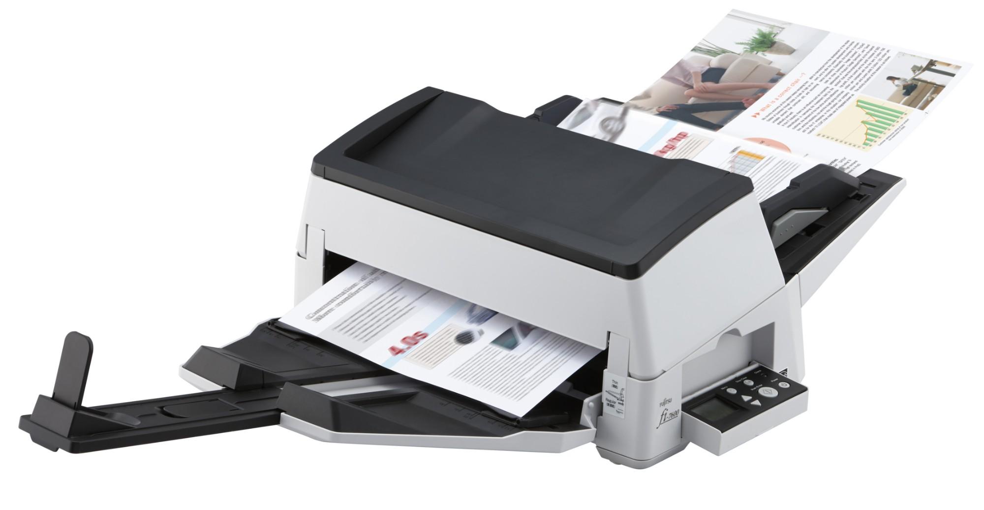 Fujitsu fi-7600 ADF 600 x 600DPI A3 Black,White PA03740-B501