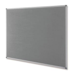 Nobo Classic Felt Noticeboard Grey 900x600mm