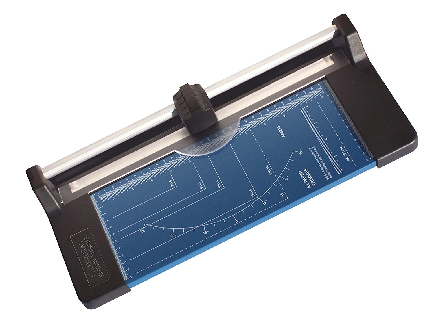 Cathedral Products Value A4 Precision Rotary Paper Trimmer 10 Sht Capacity
