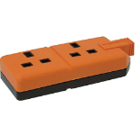 Videk ELS132O-01 Orange electrical power plug
