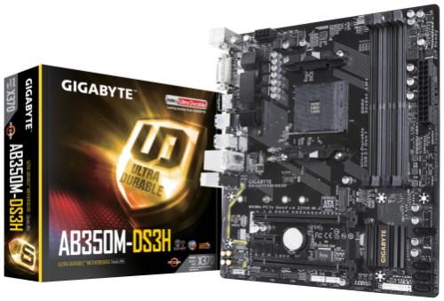 Gigabyte GA-AB350M-DS3H motherboard Socket AM4 Micro ATX AMD X370