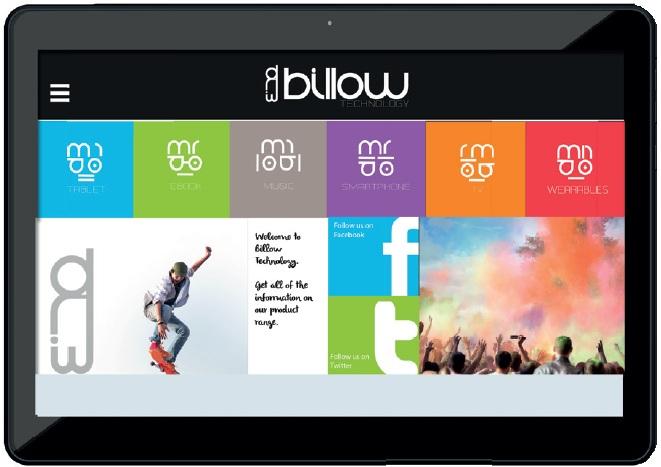 Billow X101V2 8GB Blue tablet