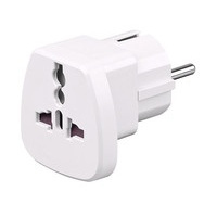 Microconnect PETRAVEL power plug adapter Universal White