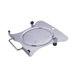 Newstar Laptop Holder (mounting via Vesa 75x75 to 100x100mm) - Silver