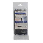 Evo Labs 2.5X150MM BLACK cable tie Nylon 100 pc(s)