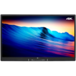 "Genee World TOU070040 Interactive Display - 4k -Digital signage flat panel 86"" LED 4K Ultra HD Black signage display"