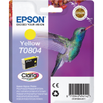 Epson C13T08044011 (T0804) Ink cartridge yellow, 620 pages, 7ml