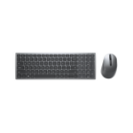 DELL KM7120W keyboard RF Wireless + Bluetooth QWERTY Grey, Titanium