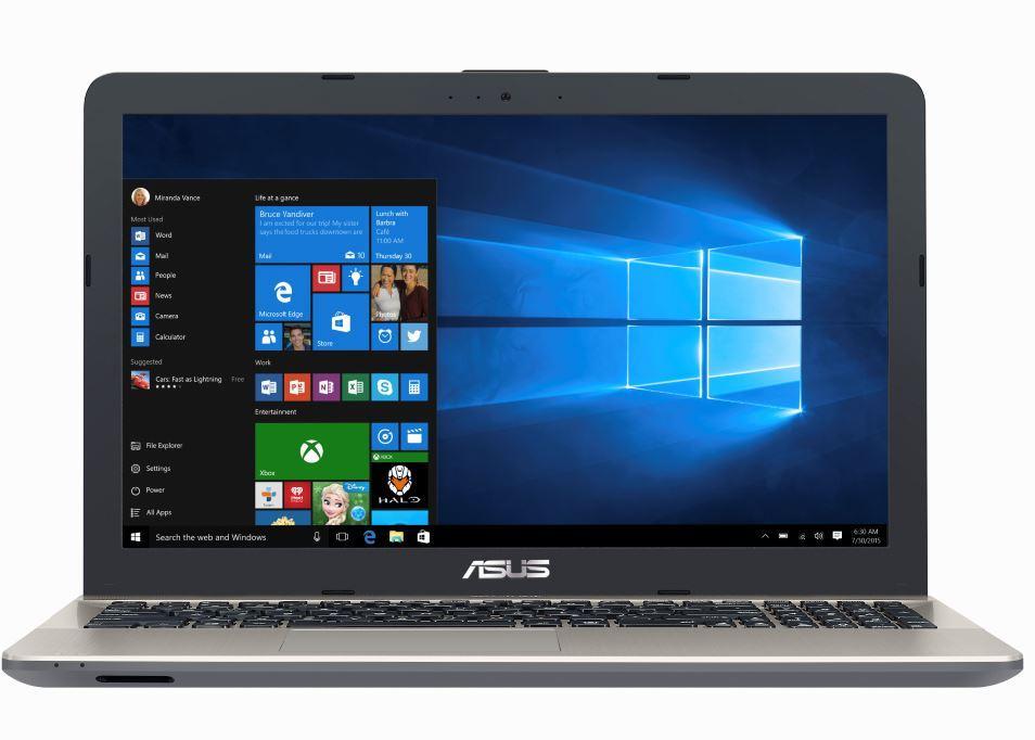 """ASUS VivoBook Max X541UA-GO726T 2.50GHz i5-7200U 15.6"""" Black,Chocolate Notebook"""