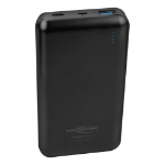 Ansmann 15.8 power bank Black Lithium Polymer (LiPo) 15000 mAh