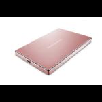 LaCie STFD2000406 2000GB Pink gold external hard drive