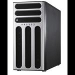 ASUS TS500-E8-PS4 Intel C612 LGA 2011-v3 5U Zwart, Zilver